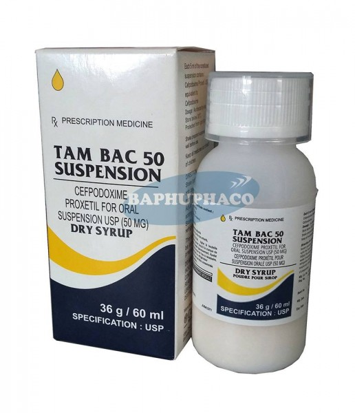 TAM BAC 50 SUSPENSION